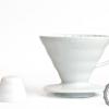 Kahvemin tadı barista kursu kahve kursu barista kahve Dripper V60 02 Ceramic WHITE Coffee