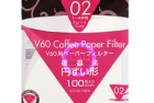 Paper Filter White for 02 Dripper 100sheets