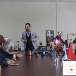 Kahvemin Tadı Barista Eğitmeni Kahve Uzmanı Yunus ÇAKMAK Görme Engelliler Projesi (13)