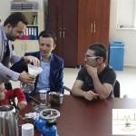 Kahvemin Tadı Barista Eğitmeni Kahve Uzmanı Yunus ÇAKMAK Görme Engelliler Projesi (23)